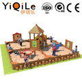 YIQILE outdoor combination playgorund wood play set toys in China