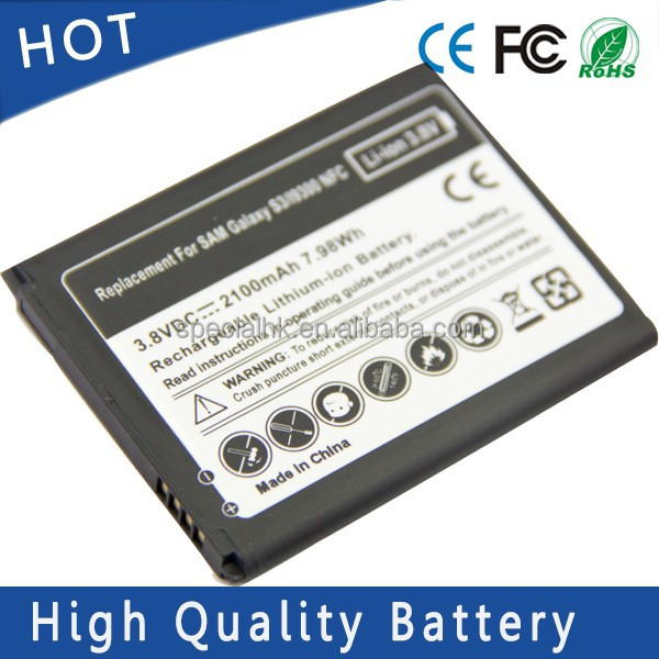 3.8V 2100mAh New Replacement Li-ion Battery for SAMSUNG GALAXY S3 EB-L1G6LLA