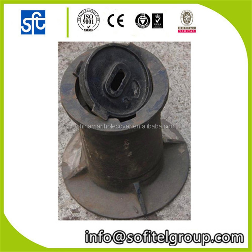 Ductile Iron Surface Box EN124, hot sales water meter box cover good quality