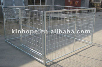 1.2m high heavy duty galvanized dog kennel