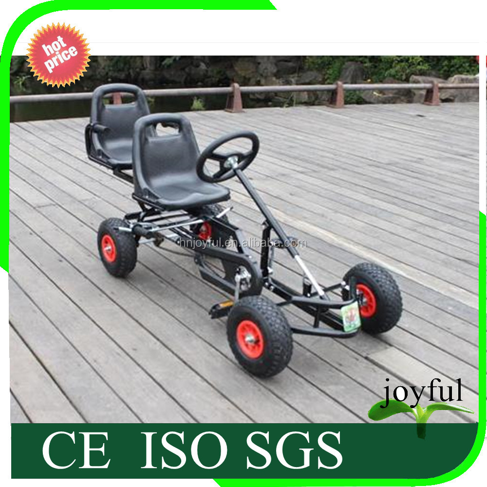 China supplier car games 2 pedal go kart kids two seat pedal cars for kids