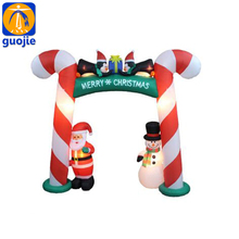 Easy setup Inflatable Arch Inflatable Carton Figures For Chrismas