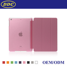 For iPad Smart Cover with Merge PC Back Case For iPad Air
