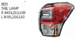 OEM.84912SG100 84912SG130 FOR SUBARU FORESTER 16' Auto Car tail lamp