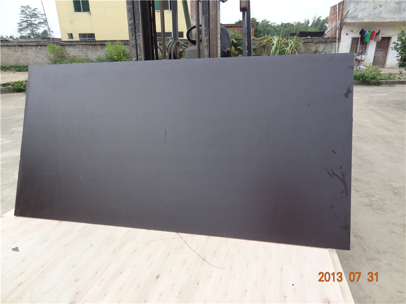 China 18mm black film waterproof plywood board