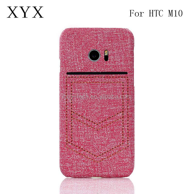 Cheapest products online PC leather phone back cover case for htc one <strong>m10</strong>