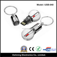 China light bulb shape usb flash drive,bulk 1gb usb flash drives personized metal usb key shape flash drive from manufacturer