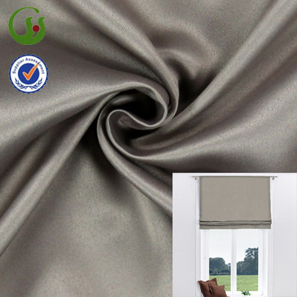 2014 hot selling faux silk sun screen fabric for curtain