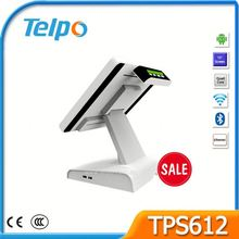 Telpo Black Sale ETR Machine Kenya Table Top WIFI Android POS Machine Integrated with Bank Card Reader TPS612