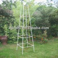 steel garden obelisks plant support