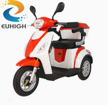 adult electric handicapped motorcycle 3 wheel electric scooter for old people