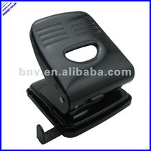 all metal black color sturdy 2 hole paper punch