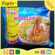 Hot sale shrimp flavor halal instant noodles with food factory