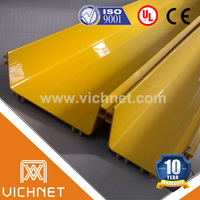PVC FV-0 ROHS and SGS cetificated pvc cable tray