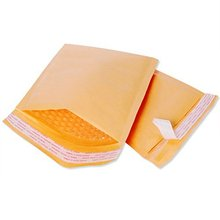 Gold Custom Padded Bubble Envelopes Kraft Bubble Mailers