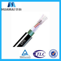 Factory Price GYTS 24 core single mode optical fiber cable price