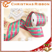 Taiwan Top Quality Attractive Xmas Ribon For Craft Project