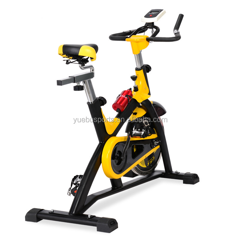 Semi Commercial Aerobic Fitness Bike Home Workout Gym Master Heavy Duty Exercise Machine 18kg Flywheel SPIN BIKE
