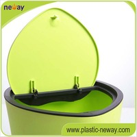 Eco-Friendly PP Material Fashion industry Plastic Dustbins
