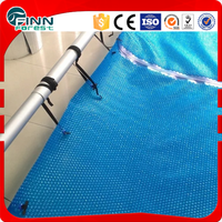 dust prevention bule hard plastic PVC swimming pool cover