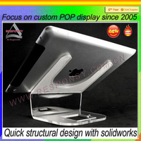 laptop display/acrylic display stand for ipad