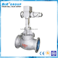 SS astm a216 wcb cast steel globe valve