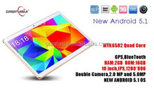 Android 5.1 tablet pc with 3g phone call function 10inch ips tablet pc