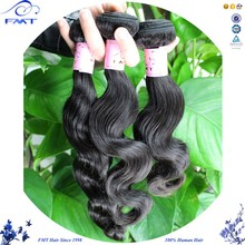 FMT 2016 New Arrival Non-Remy Body Weave 100% Unprocessed Oil India Long Hair