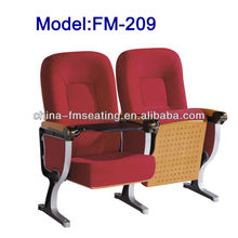 FM-209 Auditorium hall chair with table