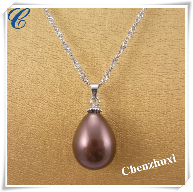 Environmental inexpensive pearl pendant necklaces for costume jewelry