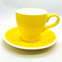 EcoCoffee Espresso Coffee Cups 180CC Mutil Color Cups Coffee Mugs