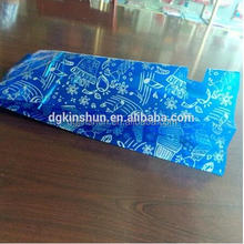 Everyday poly cellophane treat sacks Oriflame happiness blue treat bags
