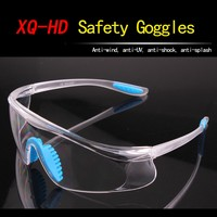 Good look safety goggles Anti-Scratch Anti-fog Adjustable Industrial Safety Glasses in china