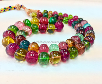 Top Quality Natural Multi Color Gemstone Tourmaline Beads