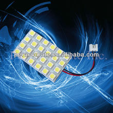 5050 24SMD LED PCB Board Panel Light T10 G4 Festoon For Auto Car Interior Indoor Dome Vanity Light Lamp Bulb