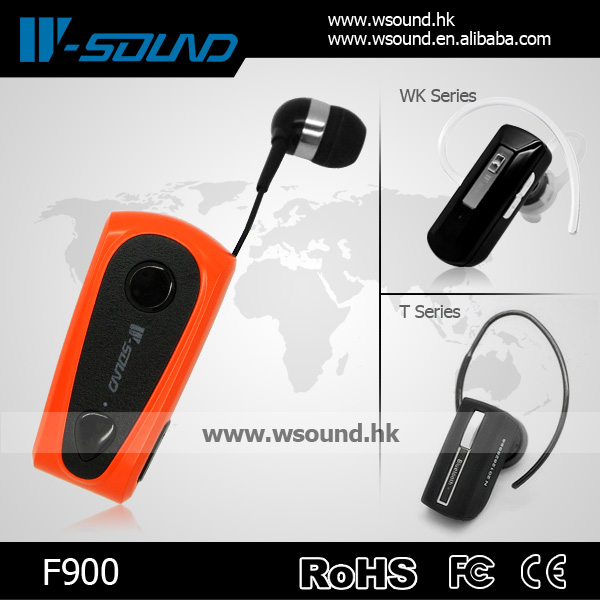 W-sound F900 Long Talking Time Wireless Sport Bluetooth Headsets Mobile Phone