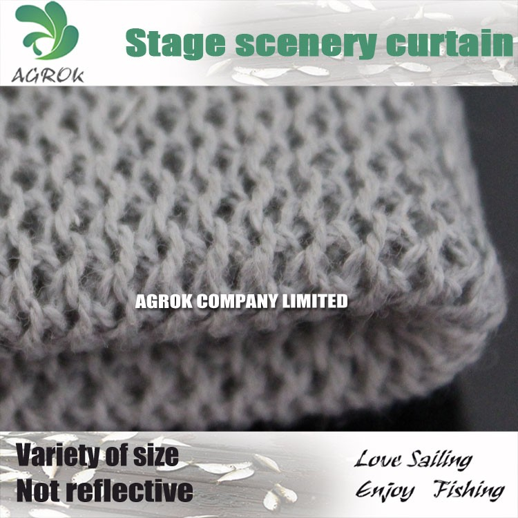Cotton Polyester Blend High Density Stage Scenery Cloth/Curtain