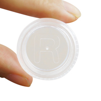 12 pcs Plastic Contact Lens Box Holder Portable Small Eyewear Container Contact Lenses Soak Storage Case