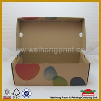 Factory price recycled paper shoe box from China