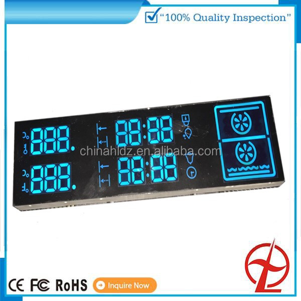 6 digit 7 segment led display module for home appliance display