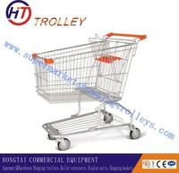 Best price Hand Pull Trolley Grocery shopping cart German shopping trolley For Sale