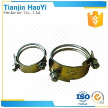 tiger hose clamp with two Spiral copper wires