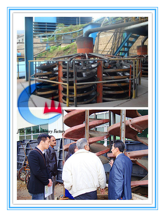 Spiral Chute Manufacturer, Gold Mining Supplies From China