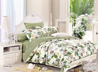 Floral printed bedding set