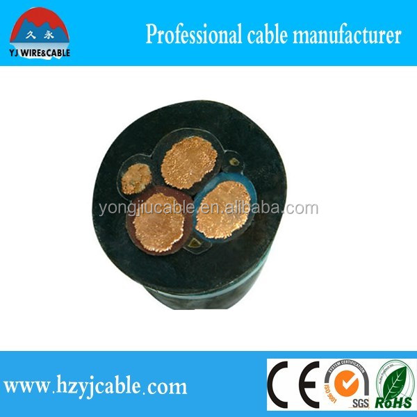 11KV high voltage 5*6mm2 3 core XLPE insulated copper electrical cable