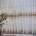 hot sale wholesale cheap embroidered lining curtain fabirc , sheer voile curtain fabric,