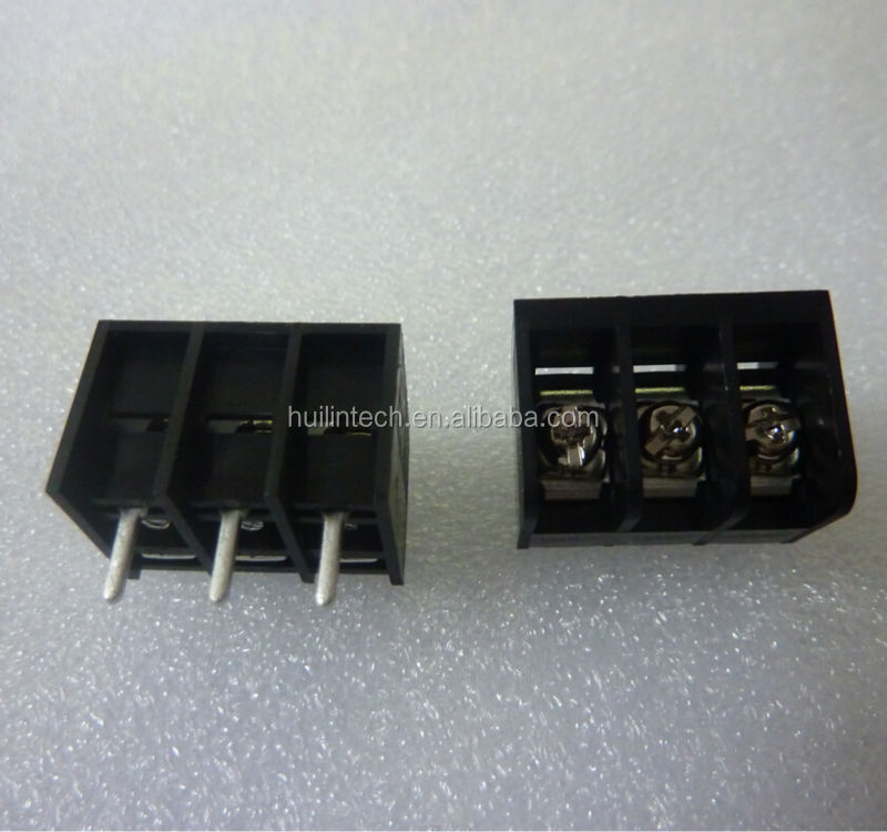 3pin barrier Dinkle screw battery terminals