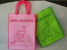 promotional printed customized handbag shopping non woven tote bag