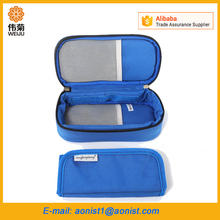 Travel outdoor insulated Diabetic Insulin vaccine Cooler Box ice bag For Medication