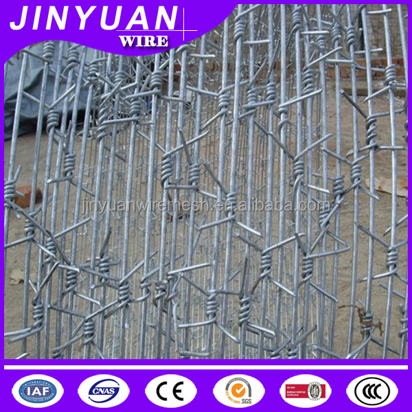 galvanized iron barbed wire with best price per roll from Dingzhou Jinyuan Company